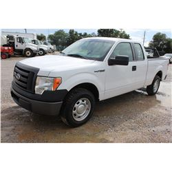 2012 FORD F150 Pickup Truck; VIN/SN:1FTEX1CM9CFB36778 -:- ext. cab, V6 gas, A/T, AC, 77,739 miles