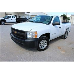 2012 CHEVROLET 1500 Pickup Truck; VIN/SN:1GCNCPEA7CZ219805 -:- V8 gas, A/T, AC, 46,417 miles