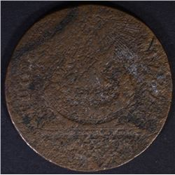 1787 FUGIO CENT, LOWER GRADE DATE VISIBLE