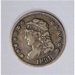 1831 CAPPED BUST HALF DIME
