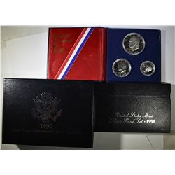 SILVER PROOF SET LOT: