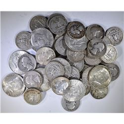 $15 FACE VALUE 90% SILVER MIX
