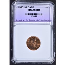 1960 LG DATE LINCOLN CENT APCG