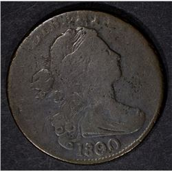 1800 80 over 79 DRAPED BUST LARGE CENT