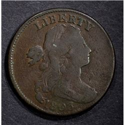 1803 DRAPED BUST LARGE CENT FINE