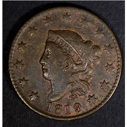 1819 LARGE CENT VF/XF