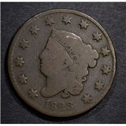 1823 LARGE CENT G/VG