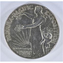 1915-S PAN-PAC COMMEMORATIVE HALF DOLLAR BU