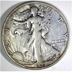 1923-S WALKING LIBERTY HALF DOLLAR ORIG XF/AU