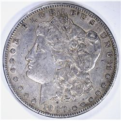 1900-S MORGAN DOLLAR, XF/AU