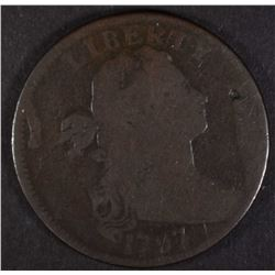 1797 DRAPED BUST LARGE CENT NO STEMS!!
