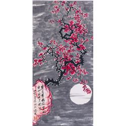 DAO ZONG Chinese Watercolor Paper Scroll