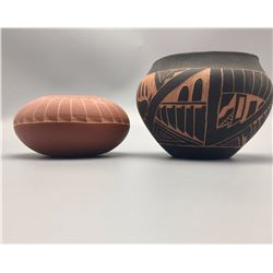 Pair of Acoma Pots