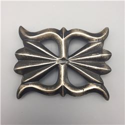 Navajo Sandcast Belt Buckle