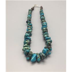 Vintage Chunky Turquoise Necklace