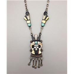 Vintage Zuni Necklace - Andy Dewa