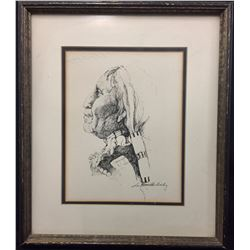 Original Art Signed, Lee Hamilton Bailey
