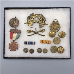 Vintage - Antique Militaria Display