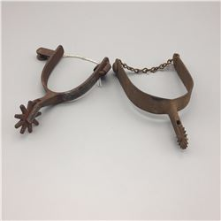 2 - Antique Single Spurs