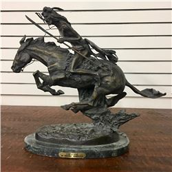 After Remington Bronze - The Cheyenne