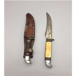 Pair of Vintage Western Brand Knives