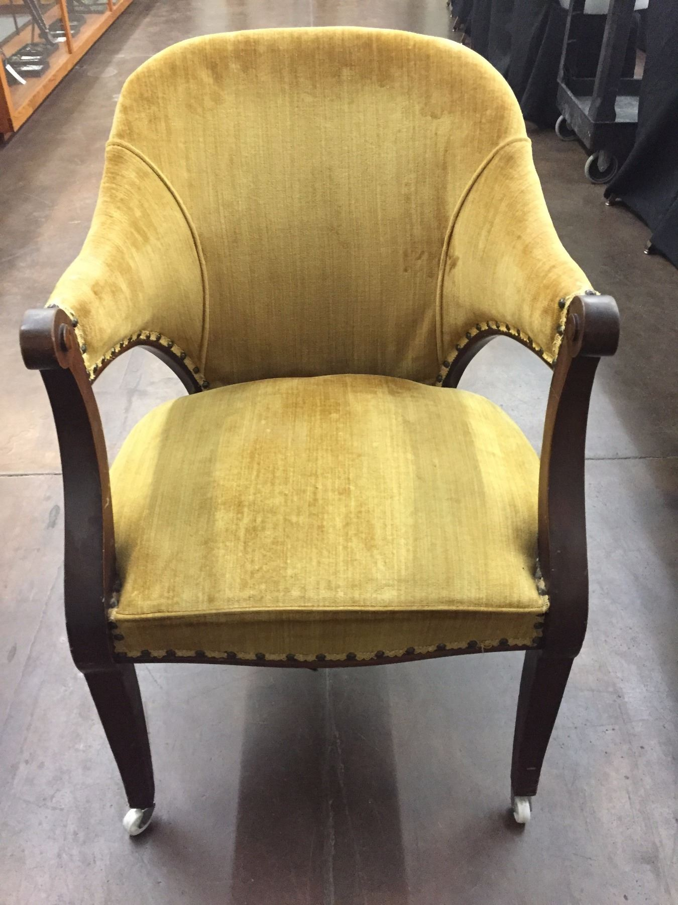 Image 1 : Antique Parlor Chair ... - Antique Parlor Chair