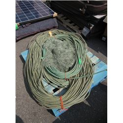 Pallet Lot Braided Rope & Gill Netting
