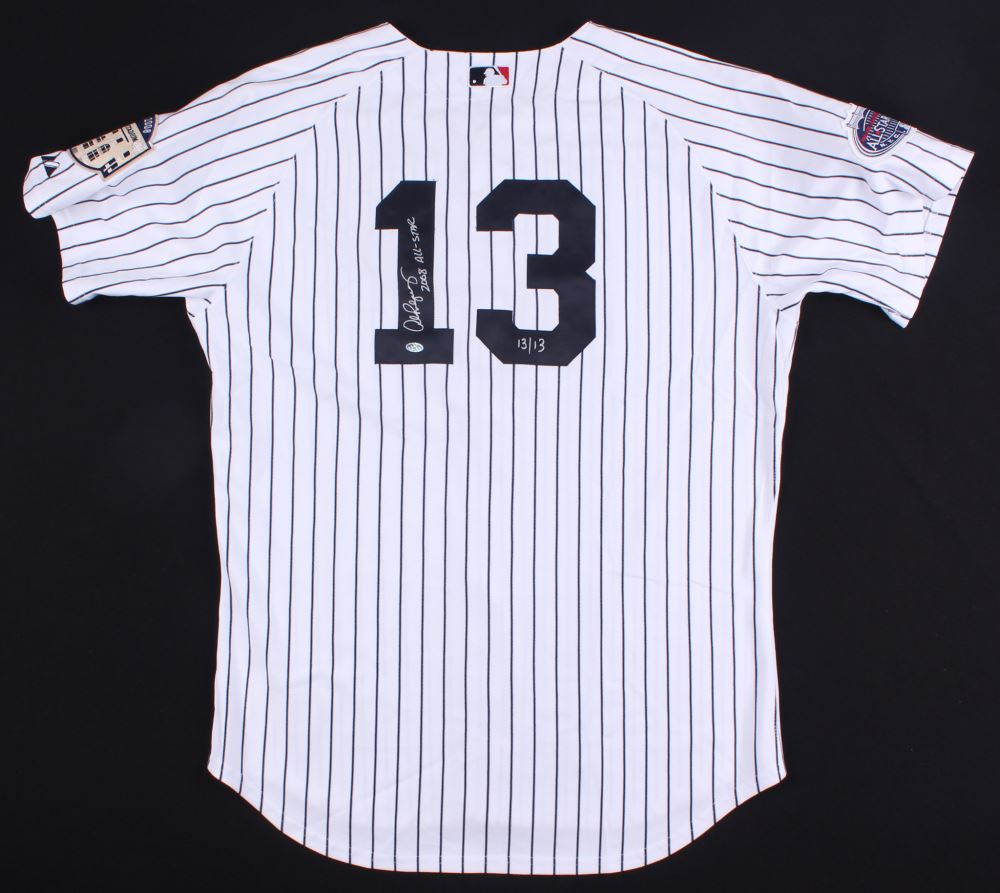 Image 1   Alex Rodriguez Signed LE Yankees 2008 MLB All-Star Game Jersey  Inscribed 18bcbb8afa6