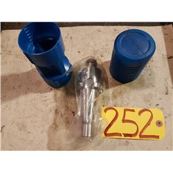 ISO40 Shell Mill holder 1""