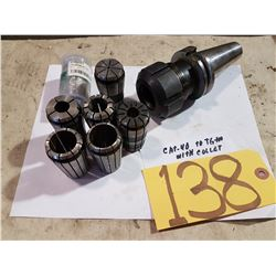 Holder CAT-40 to TG100 collet