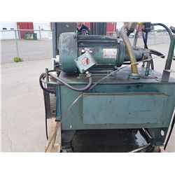 Hydraulic Unit Unimount 125 enclosed High Efficiency Motor