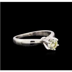 0.50 ctw Diamond Ring - Platinum