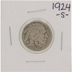 1924-S Buffalo Nickel Coin