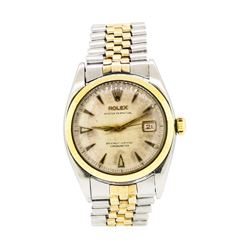 Rolex Oyster Perpetual Wristwatch - Stainless Steel and 14KT Yellow Gold
