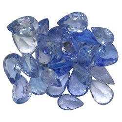 9.55 ctw Pear Mixed Tanzanite Parcel