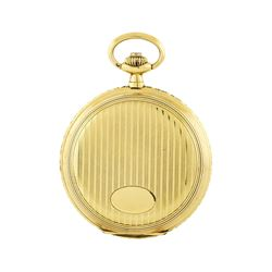 Vintage Tavannes Pocket Watch - 14KT Yellow Gold