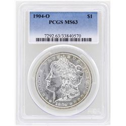 1904-O $1 Morgan Silver Dollar Coin PCGS MS63