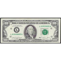 1990 $100 Federal Reserve Note Unicirculated