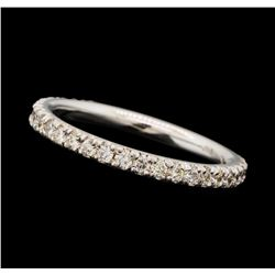 0.38 ctw Diamond Band - 18KT White Gold