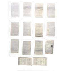 BULLION: [14] NTR Metals 10 troy oz. .999 silver bars
