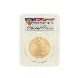 COIN: [1] 1994-W $50 Reagan Legacy Series gold coin; PCGS PR 69, 32956647