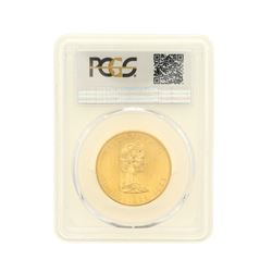 COIN: [1] 1983 $50 Canadian Maple Leaf Gold coin, 1 oz, PCGS 28782654