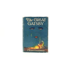"""RARE BOOK C: """"The Great Gatsby"""" by F. Scott Fitzgerald, Charles Scribner 1925 first edition, blue cl"""