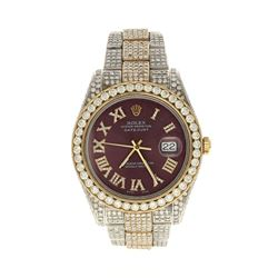 WATCH: [1] Stainless steel and 18 karat yellow gold gents Rolex Oyster Perpetual 41mm Datejust II wa
