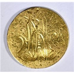 CLASSIC $2.50 GOLD LIBERTY LOVE TOKEN