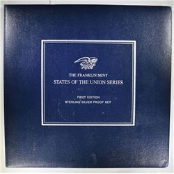 1969 THE FRANKLIN MINT STATES OF THE UNION