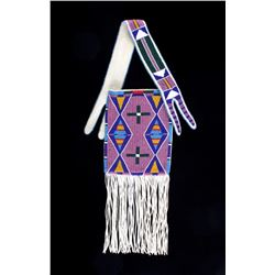 Excellent Sioux Beaded Flat Bag