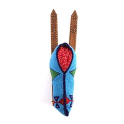 Blackfeet Indian Beaded Doll Papoose Cradleboard