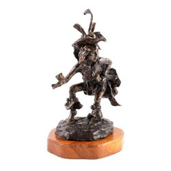 Original Gary Schildt Bronze Sculpture