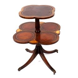 Voss Inn English Style Two Tier Side Table